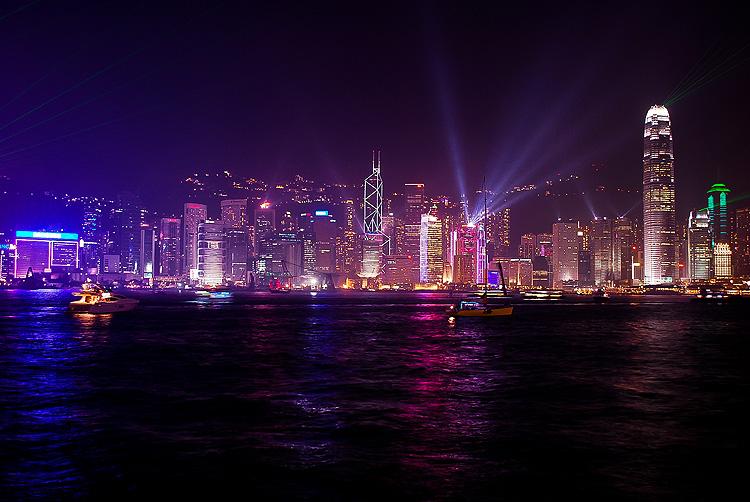 Hong Kong in time lapse