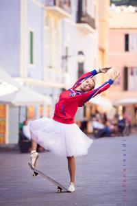 Skate ballerina