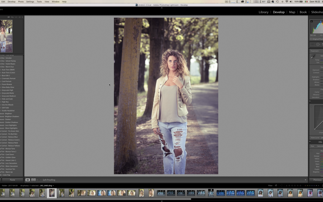Come installare preset e pennelli su Lightroom