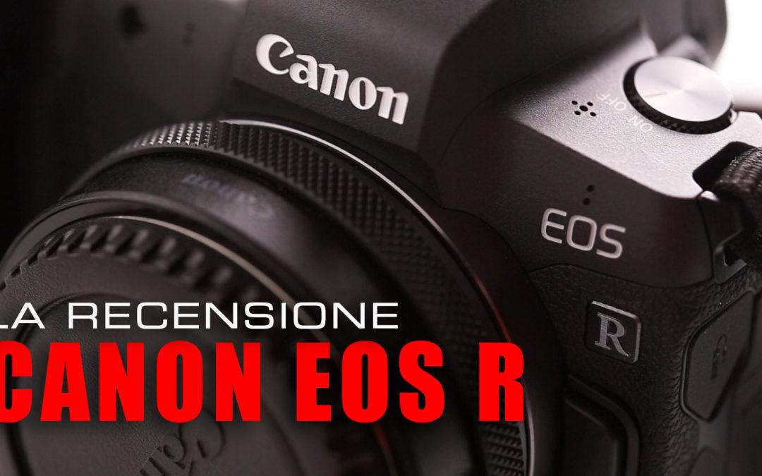 Recensione Canon EOS R