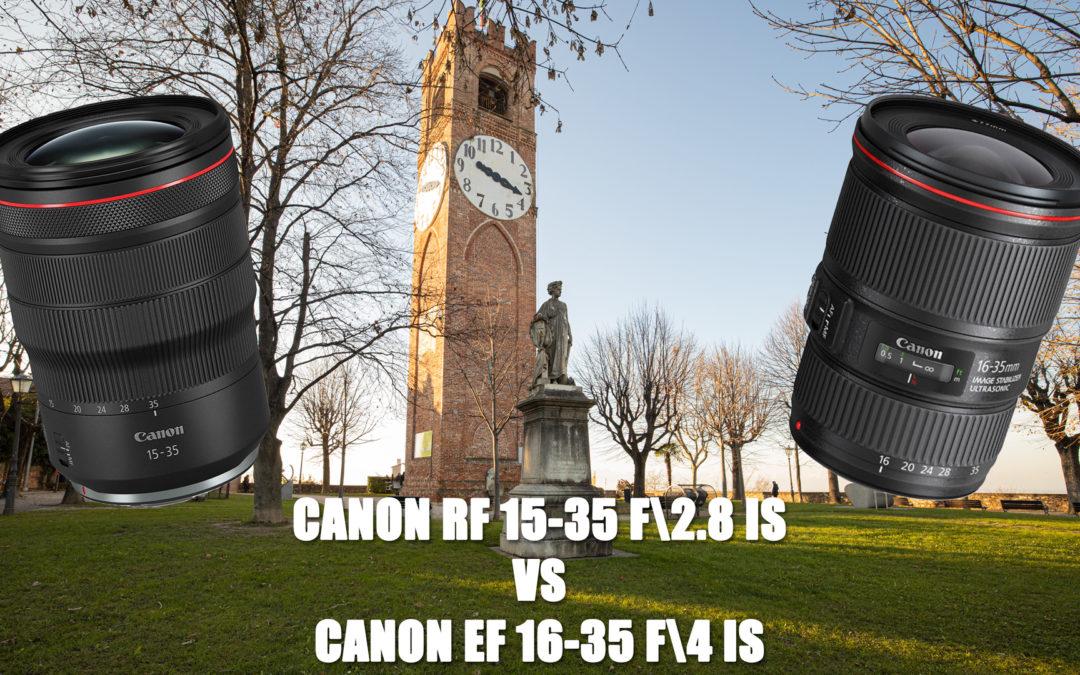 Canon RF 15-35 f2.8 IS vs EF 16-35 f4 IS