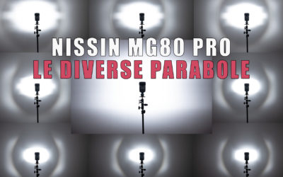 Nissin MG80 PRO  – Le differenti parabole