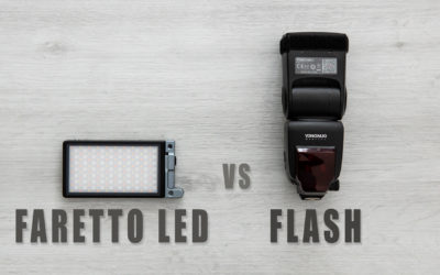 Faretto led vs flash