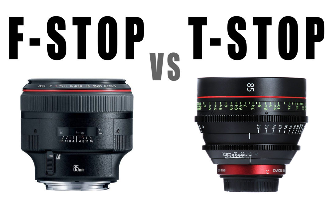 F-stop vs T-stop