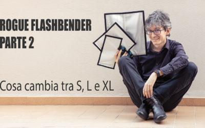 Rogue Flashbender – Versione v2 vs v3 + confronto dimensioni S, L, XL