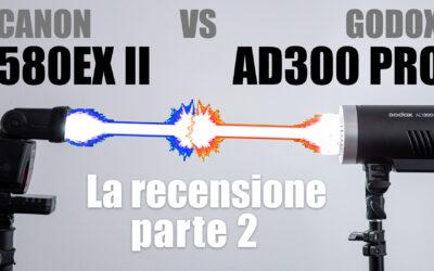 Godox AD300 Pro – Confronto con Speedlight e Recensione (parte 2)
